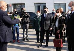 Son dakika haberler: Edirne Valisi ve Bulgaristan Başbakanı tampon bölgede buluştu Corona tedbiri...