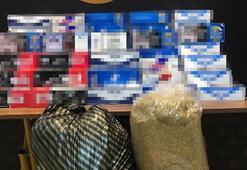 Çanakkalede tütün operasyonu 1 kişi gözaltına alındı