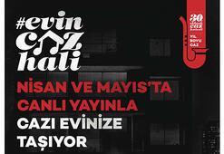 Akbank Sanat ile Evin Caz Hali