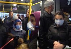 Ankarada tepki çeken görüntü Şu rezilliğe bak...