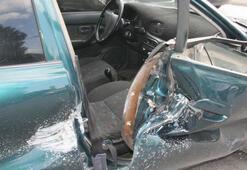 Hafriyat kamyonu dehşet saçtı Bir kişi ölümden döndü