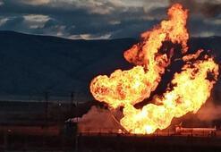 Ağrı- Gürbulak Sınır Kapısında doğal gaz boru hattında patlama
