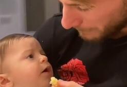 Ciro Immobileden oğluna yemek şakası