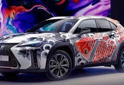Dünyada bir ilk; Dövmeli otomobil