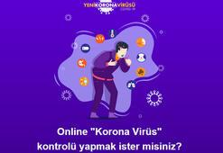 Online corona virüs testi nasıl yapılır Sağlık Bakanlığı Online corona virüs testi ekranı
