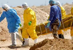 Son dakika: Tüyler ürperten görüntü Corona virüsten öldü, çöle gömüldü