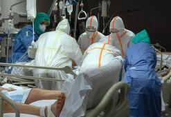 İspanyada corona virüsü salgınında ölü ve vaka sayısında rekor artış