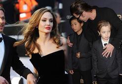 Angelina Jolie, Brad Pitte çocuklarını göstermiyor mu