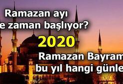 Ramazan bayramı ne zaman 11 Ayın sultanı Ramazan 2020 hangi tarihte başlıyor