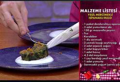 Yeşil mercimekli ıspanaklı rulo nasıl yapılır, malzemeleri nelerdir Gelinim Mutfakta bugünkü yemek tarifi