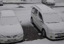 O ilimiz beyaza büründü 1 Nisan karı