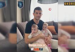 Medipol Başakşehirli futbolculardan evde kal çağrısı