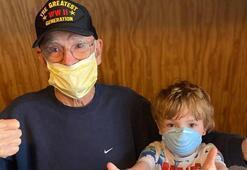 95 yaşındaki  2nci Dünya Savaşı gazisi corona virüsü yendi