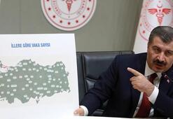 Son dakika: Sağlık Bakanı Koca duyurdu İl il corona virüsten ölen sayısı ve vaka sayısı...