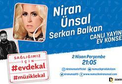 Niran Ünsal'ın çağrısı #EvdeKal #MüzikleKal için