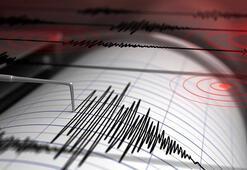 Endonezyada deprem Büyüklüğü...