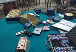 İzmirde polisten kumar operasyonu