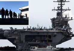 Uçak gemisinden corona tahliyesi... 2 bin 700 asker
