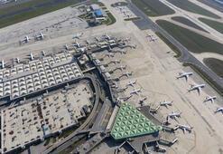 Corona virüs sonrası Atatürk Havalimanı uçaklarla doldu