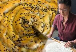 Nurgül Yeşilçay el açması börek yaptı