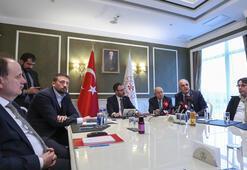 Spor Bakanı Kasapoğlu ve federasyon başkanları bir araya geliyor...