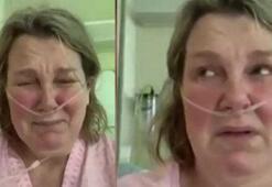 Corona virüs hastası ağlayarak yalvardı: Evden çıkmayın