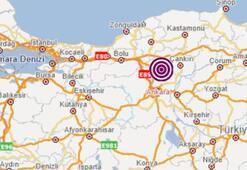 Son dakika haberi... Ankarada korkutan deprem Depremin büyüklüğü...