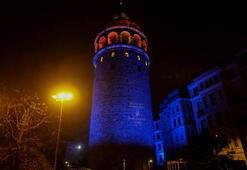 İstanbulun simge yapılarında otizm farkındalığı