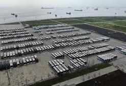 Yüzlerce otobüs Yenikapı miting alanını doldurdu