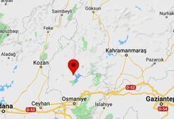 Son dakika   Osmaniyede 3.4 büyüklüğünde deprem