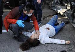 Antalyada can pazarı Kazayı gören vatandaşlar oraya koştu