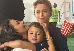 Emina Jahovic oğullarına antrenörlük yaptı