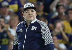 Maradona, kulübünden maaşının kesilmesini talep etti