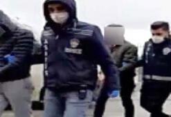 3 hırsız kameradan belirlenerek tutuklandı