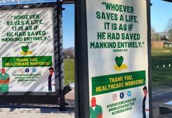 Hollandada sağlık çalışanlarına Kuran-ı Kerimden ayetle teşekkür