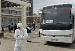 Cezayirden gelen 450 Türk işçi Aydında yurtlarda karantinaya alındı