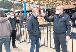 Yunusemre'de tezgahlar altı gün boyunca açık