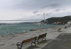Bebek, Emirgan ve Tarabya sahilleri yine boş kaldı