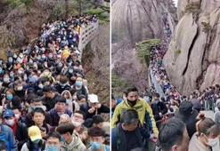 Çinde karantina yasakları hafifletildi, on binlerce kişi parklara akın etti