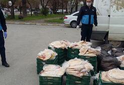 Açıkta satılan 7 bin ekmeğe el koyuldu