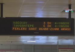 Metroda son sefer saat 21.00'e çekildi