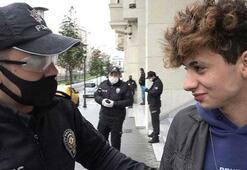 17 yaşındaki genç sokağa çıktı Cezayı yiyince Problem değil dedi