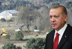Cumhurbaşkanı Erdoğan duyurmuştu Yapımına başlandı