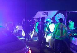 Kaza yapan alkollü sürücü, kovalamaca sonucu yakalandı