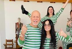 Bruce Willis ile Demi Moore bir arada