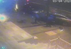 Arnavutköyde polisten kaçan hırsızlar kaza yaptı