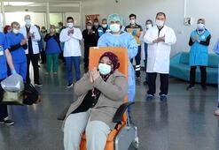 41inci corona virüs hastası taburcu edildi