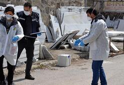 Erzurumda pazarcıların yer kavgası Bir pazarcı yaralandı