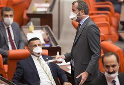 Milletvekilleri Meclise maske ile geldi