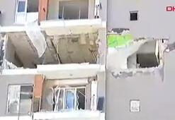 Son dakika... Esenyurtta bir binada patlama
